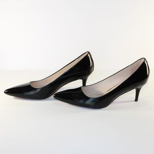 Coach Grand patent leather heels